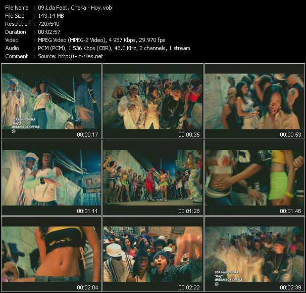Lda Feat. Cheka video screenshot