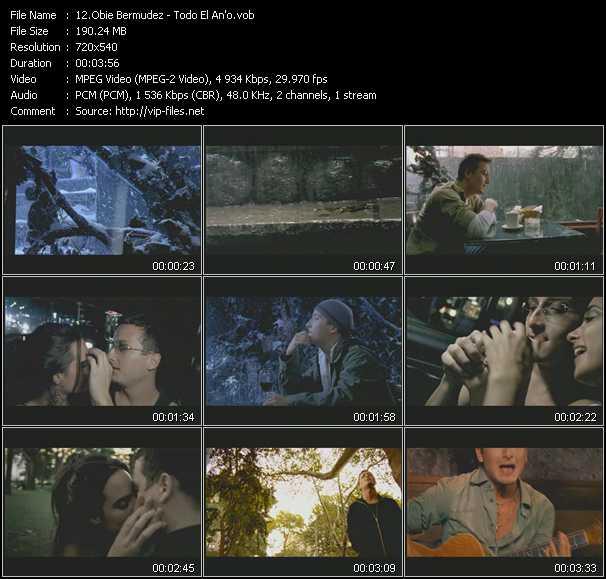 Obie Bermudez video screenshot