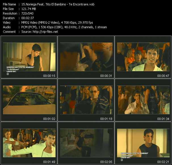 Noriega Feat. Tito El Bambino video screenshot