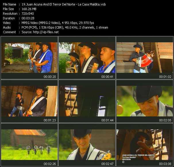 Juan Acuna And El Terror Del Norte video screenshot