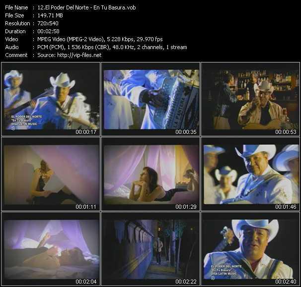 El Poder Del Norte video screenshot