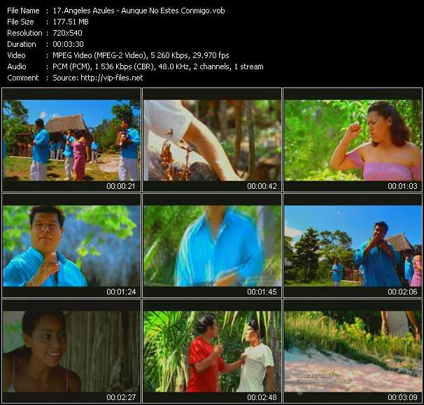 Angeles Azules video screenshot