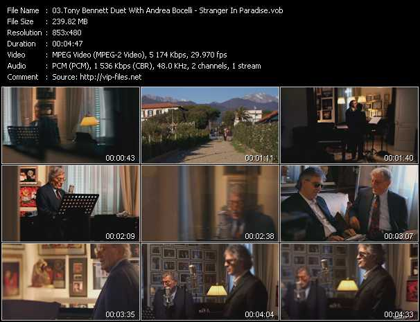 Tony Bennett Duet With Andrea Bocelli video screenshot