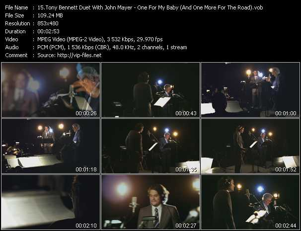 Tony Bennett Duet With John Mayer video screenshot