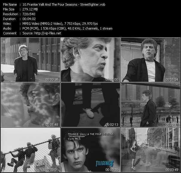 Frankie Valli And The Four Seasons video screenshot