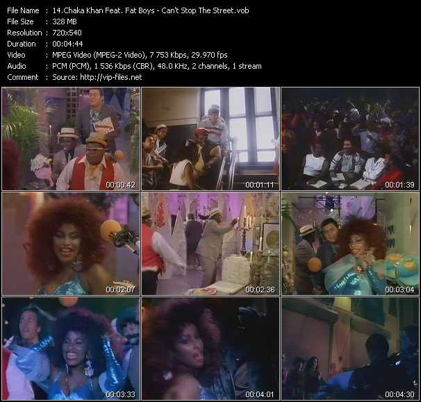 Chaka Khan Feat. Fat Boys video screenshot