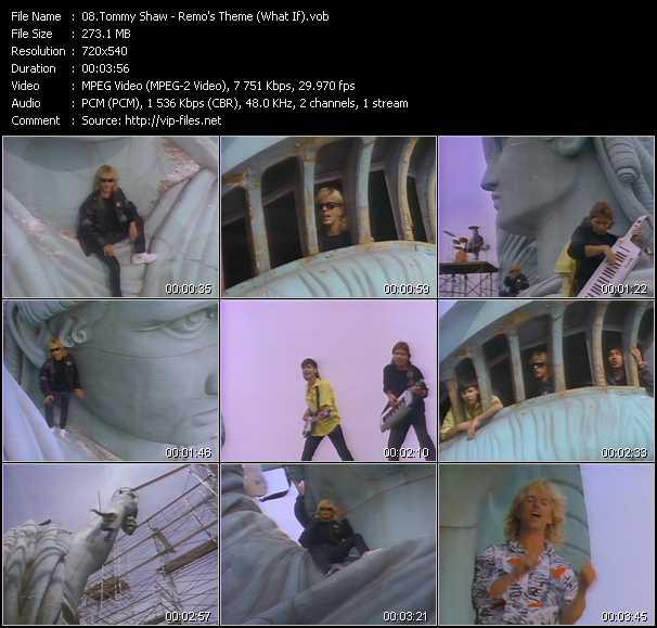 Tommy Shaw video screenshot