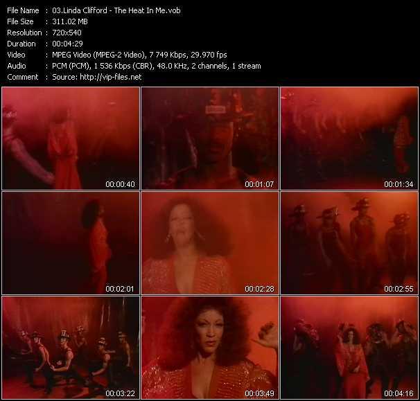 Linda Clifford video screenshot