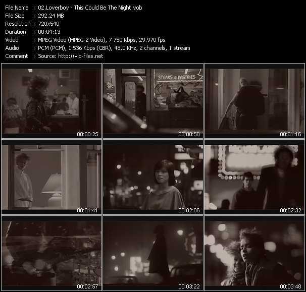 Loverboy video screenshot