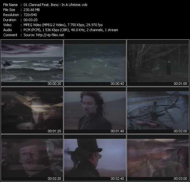 Clannad Feat. Bono video screenshot