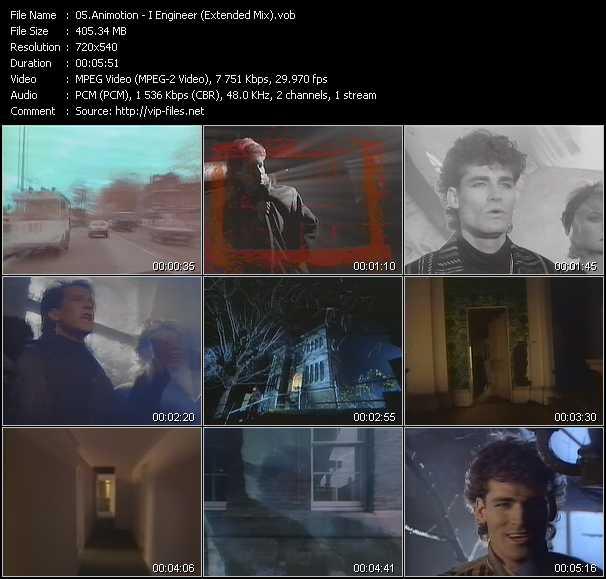 Animotion video screenshot