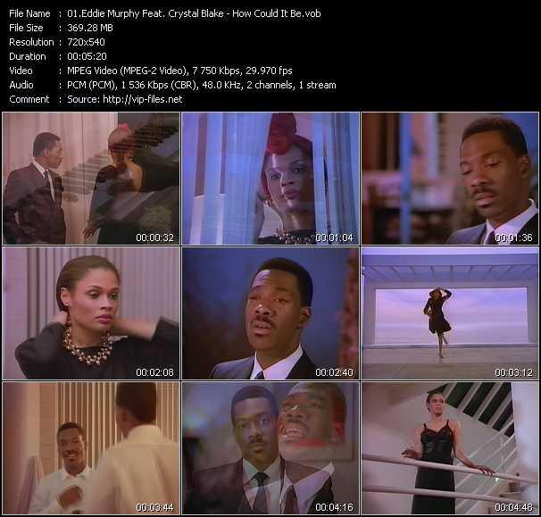 Eddie Murphy Feat. Crystal Blake video screenshot