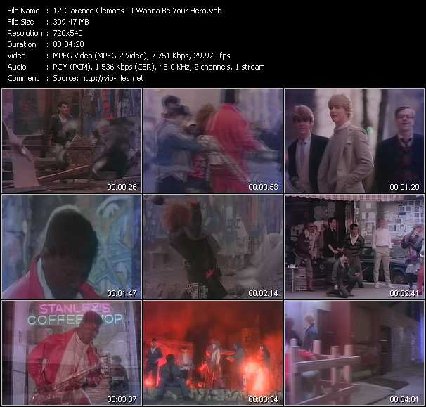 Clarence Clemons video screenshot