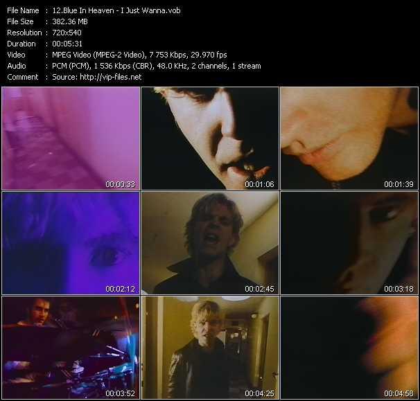 Blue In Heaven video screenshot