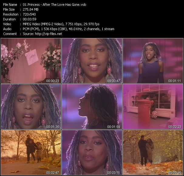 Princess video screenshot