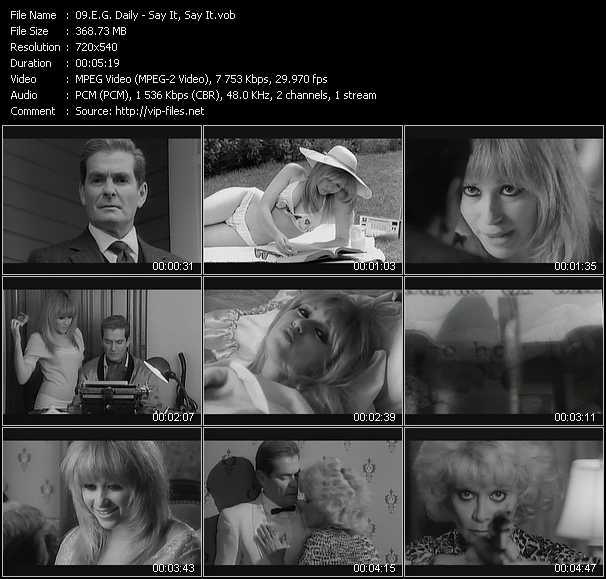 E.G. Daily video screenshot