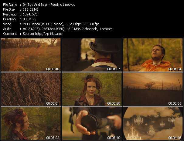 Boy And Bear video screenshot
