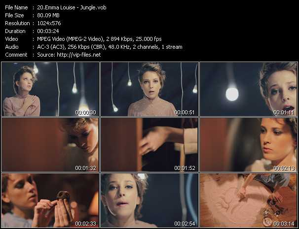 Emma Louise video screenshot