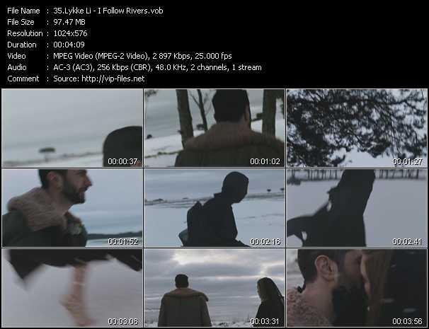 Lykke Li video screenshot
