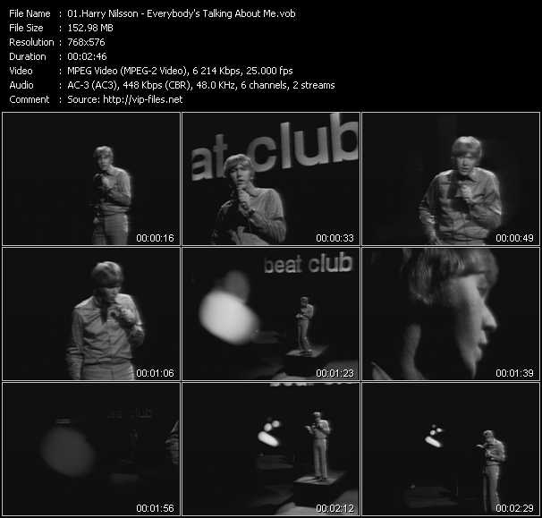 Harry Nilsson video screenshot