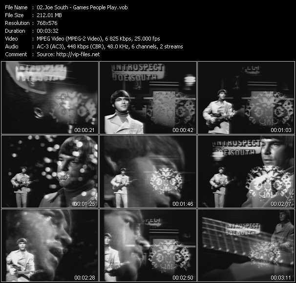 Joe South video screenshot