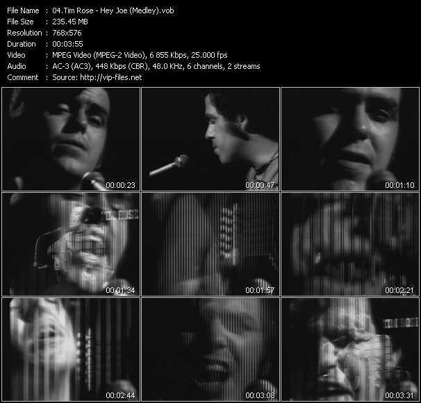 Tim Rose video screenshot