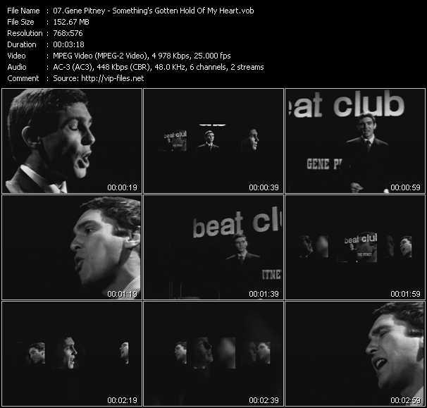 Gene Pitney video screenshot