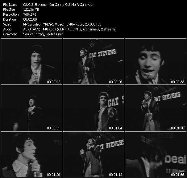 Cat Stevens video screenshot