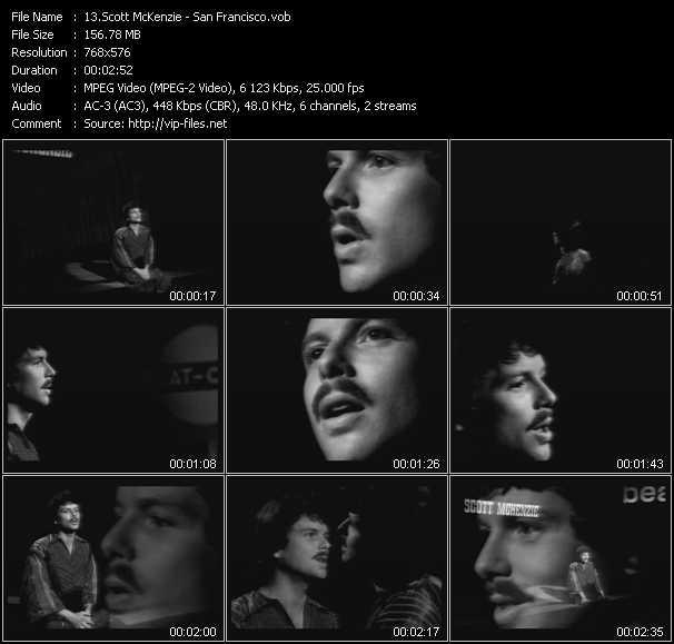 Scott McKenzie video screenshot