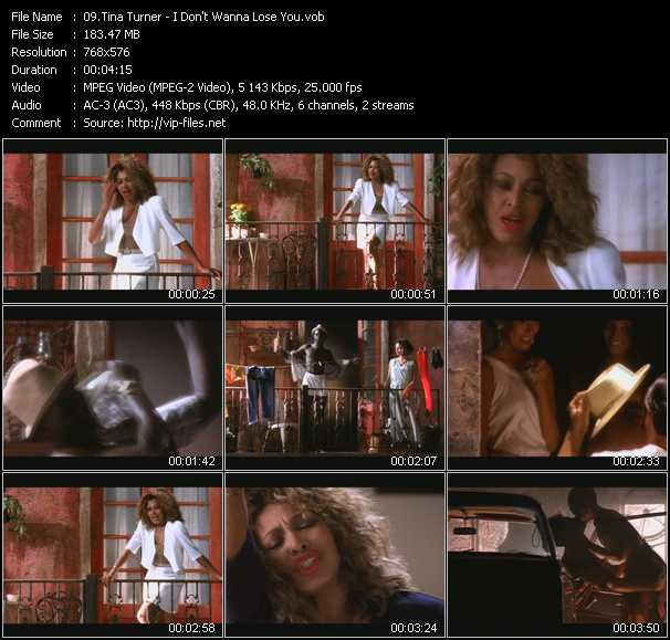 video I Don't Wanna Lose You screen