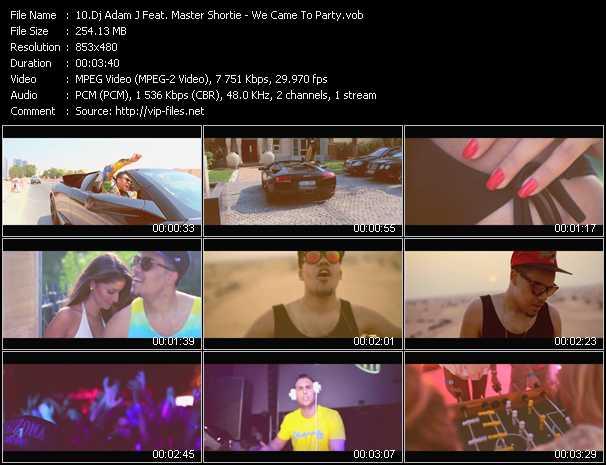 Dj Adam J Feat. Master Shortie video screenshot