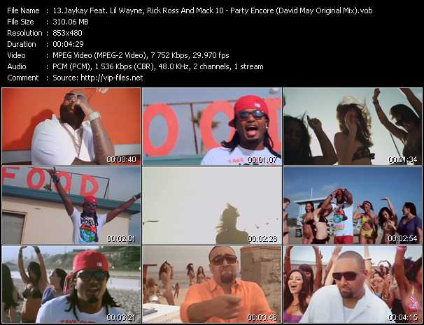 Jaykay Feat. Lil' Wayne, Rick Ross And Mack 10 video screenshot