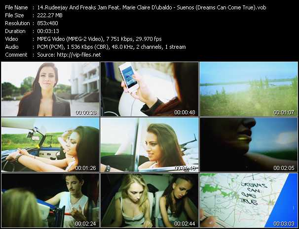 Rudeejay And Freaks Jam Feat. Marie Claire D'ubaldo video screenshot