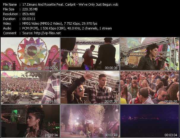 Dimaro And Rosette Feat. Carlprit video screenshot