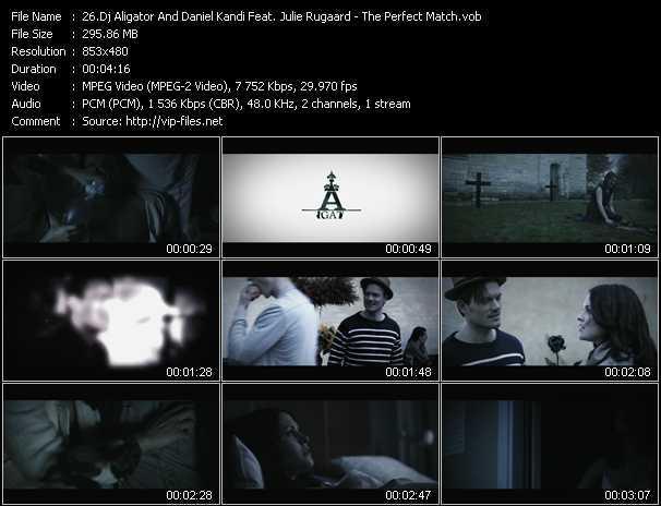 Dj Aligator And Daniel Kandi Feat. Julie Rugaard video screenshot
