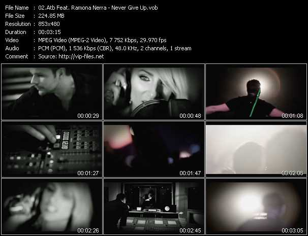 Atb Feat. Ramona Nerra video screenshot