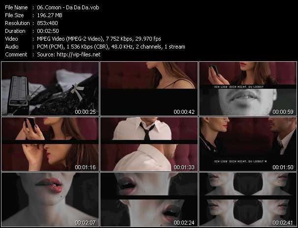 Comon video screenshot