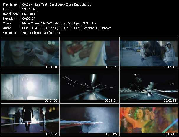 Javi Mula Feat. Carol Lee video screenshot