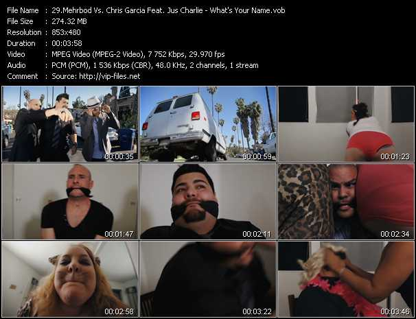 Mehrbod Vs. Chris Garcia Feat. Jus Charlie video screenshot
