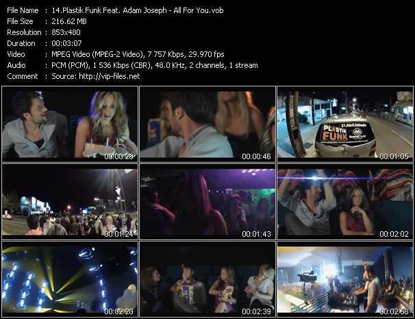 Plastik Funk Feat. Adam Joseph video screenshot