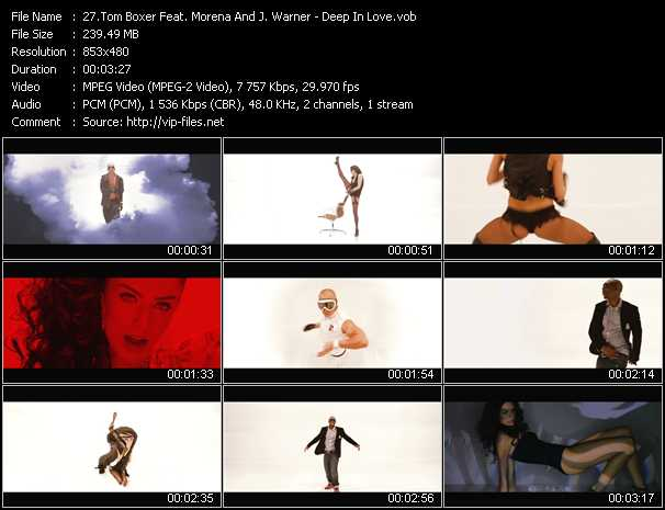 Tom Boxer Feat. Morena And J. Warner video screenshot
