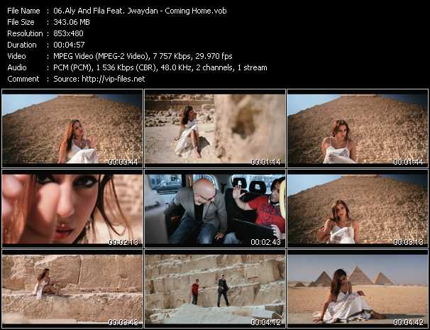 Aly And Fila Feat. Jwaydan video screenshot
