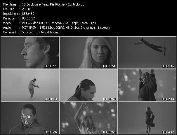 Disclosure Feat. Ria Ritchie video screenshot