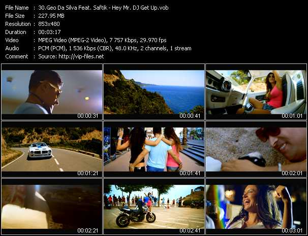 Geo Da Silva Feat. Saftik video screenshot